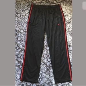 Nike black basketball training pants